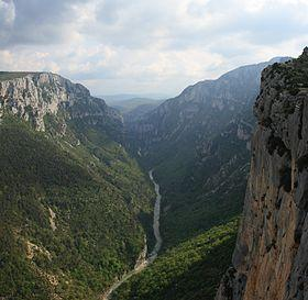 B3c : Gorges du Verdon – Canyon – Corniche sublime