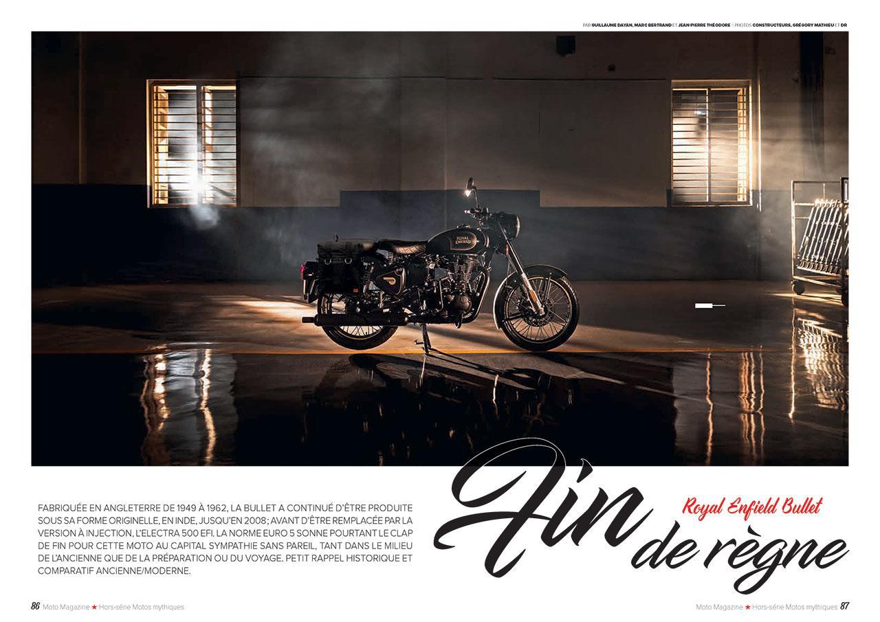 couverture extrait moto magazine