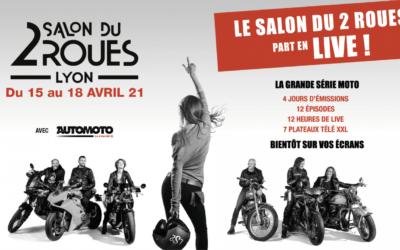 RdV en Avril au Salon du 2 Roues Découverte de nos Séjours Alpes Luberon Provence