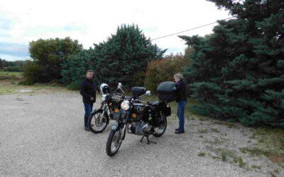 Séjour juin 2021 – témoignage de Sylvie – balade moto en Provence